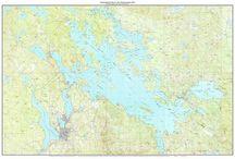 New Hampshire Lakes Topo Maps