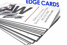 Business Cards - black edge cards