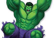 cumple increible hulk