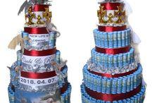 Nászajándék, esküvői torta - másképp :)