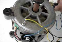 como conetar un motor de lavadora