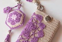 Crochet I phone case