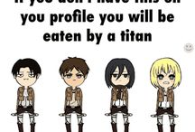 attack on titan funny