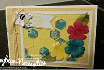 Emmybear's Forget Me Not Sentiment Stampin' Up cards / Some of the cards I've made using Stampin' Up products