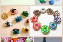 Polymer clay / Favorite polymer clay charms and foods / by Nini