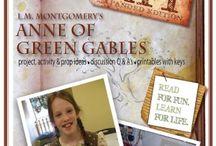 Homeschool unit - Anne of Green Gables Unit / Preparing for a summer Ann unit study