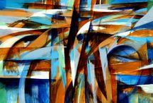 Paintings / Paintings by Harry Wedzinga