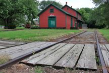 "Prairie Depot / My novels ""Promise"" and ""Peel (as in apple)"" both begin in a railroad town called Prairie Depot, out in the American heartland. Here's their world before they moved on to Katonkah Country. / by Jnana Hodson"