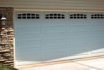 How-To Pins: Garage Doors