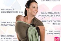 Ring Slings and Pouches / Versatile and easy to use!