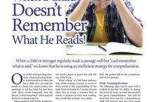 Reading Ideas / Comprehension, oral rdg ideas