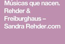 Dúo Rehder Freiburghaus / Sandra Rehder y Mary Freiburghaus El dúo presenta esta vez un repertorio nuevas creaciones  compuestas por poemas de Sandra Rehder y música de Mary Freiburghaus.
