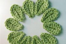 Easy leaf pattern