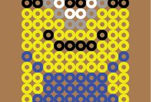 louise / perle hama ou pixel art