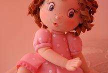 Fondant figurine