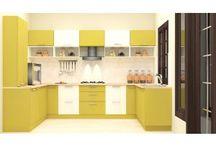 U Shaped Modular Kitchen Bangalore / Get customized modular u shape kitchen designs online from scaleinch.com