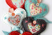 valentinske dekaracie