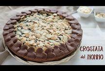 crostata al cioccolato del nonno