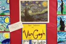 Van gogh for kids paintings