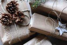 Project ~ Brown Paper Roll Inspiration ~ DIY ~ / DIY Gifting
