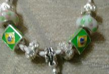 Mix Braceletes / Semijóias, Acessórios em prata, aço, couro