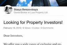 Looking for Property Investors!