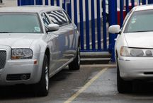 White Stretch Chrysler 300c / Hire with our 8 passenger white stretch Chrysler.