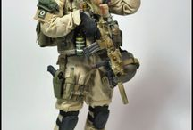 1/6 scale military action figure / For reference  ( various collectors )
