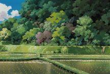 Gibli landscape