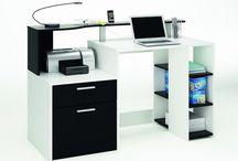 Modern Computer Desk House Furniture PC Laptop Student Study Table Storage Unit