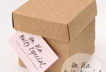 Caixas de papel kraft