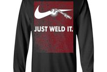 Weld clothes