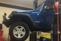 JEEPS / Jeeps we build