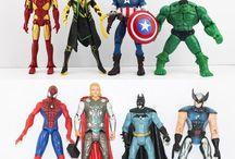 marvel figurines