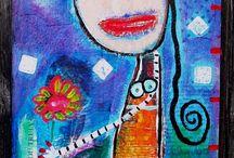 Figurative Malerei ★ figurative art / Sehenswerte Malerei von Figuren.