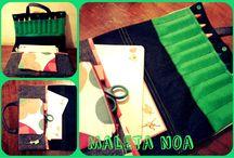 A viajar / maletas para pintar y llevar los colores, la libretas y demás para entretenerse donde sea