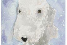 Terrier Dog Fine Art