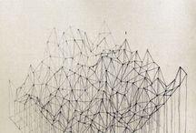 Paysages abstraits / Désert
