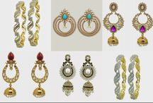 Dazzling and attractive Color Jewelry / We are pioneers of the selling our products such as Formal & Designer Clothing, Handicrafts, Handlooms, Devotionals, Costume Jewelry, Fashion Jewelry and will coming with more Indian cultural products.