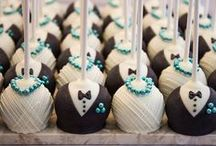Wedding cakes and candy bar