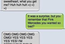 Funny texts / Most of these I almost peed my pants reading