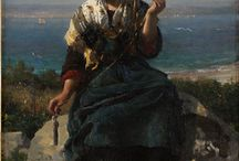 Jules Breton / French Artist (1827-1996)