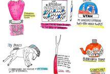 Drawing / Where pencils & pens meet paper, people!