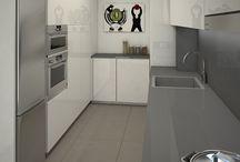 Sabadell | Proyecto de reforma integral / Nuestro departamento de interiorismo elaboró estos renders 3D para el proyecto de reforma integral que realizaremos en una vivienda de Sabadell.