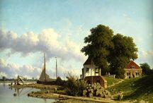 Jan Weissenbruch / Met zijn heldere licht en realistische stijl wordt Jan Weissenbruch (1822-1880) 'de Vermeer van de 19de eeuw' genoemd.