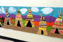 Awesome Ideas for Elementary Art / Pre-k through 5th grade art project ideas and resources