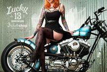 Kobiety na motocyklach