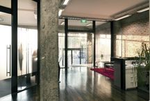 ICR Taylors Road - Commercial / Originally a 1950's warehouse, the ICR Consulting team converted this space into a contemporary, functional open plan office, while still making the most of the buildings robust materials.