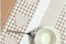 Mutfak önlük, masa, Amerikan servis,.....