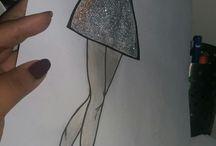çizim / simli Balerin